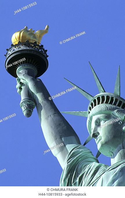 USA, America, United States, North America, New, York, City, Liberty, Island, Statue, Liberty, America, Cities, City