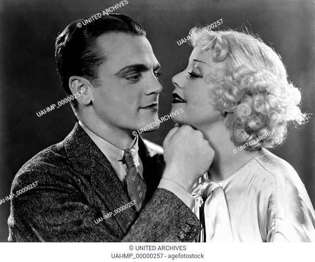 Der Mann mit der Kamera, (THE PICTURE SNATCHER) USA 1933 s/w, Regie: Lloyd Bacon, JAMES CAGNEY, ALICE WHITE, Key: Paar