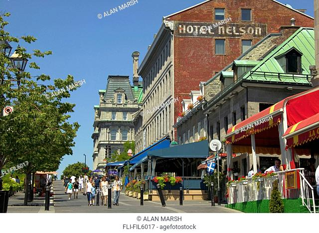 Place Jacques-Cartier, Old Montreal, Quebec