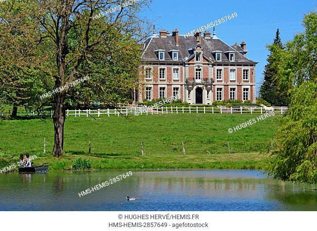France, Aisne, Maissemy, Domaine de Vadancourt, B and B