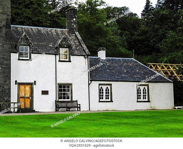 The Sormeled Rooms of Armadale castle and gardens, Isle of Skye, Scotland, UK