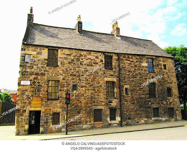 The oldest House in Glasgow in Castel Street, Glasgow, Scotland