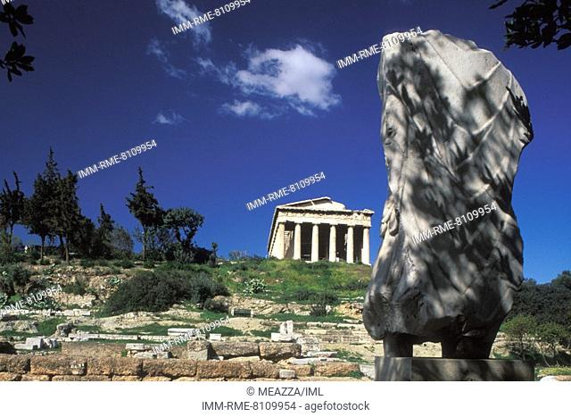 The temple of Hephaestus  Athens, Attica, Greece