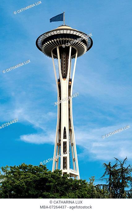 Seattle, Space Needle, landmark World's Fair