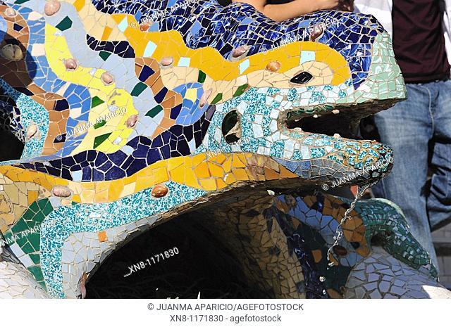 El Drac Park Guell in Barcelona