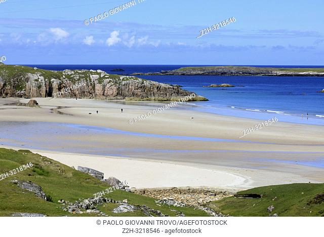 The beaches at Durness peninsula, Scotland, Highlands, United Kingdom