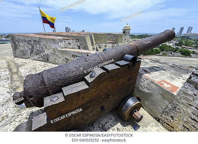 San Felipe Barajas Castle in Cartagena, Colombia