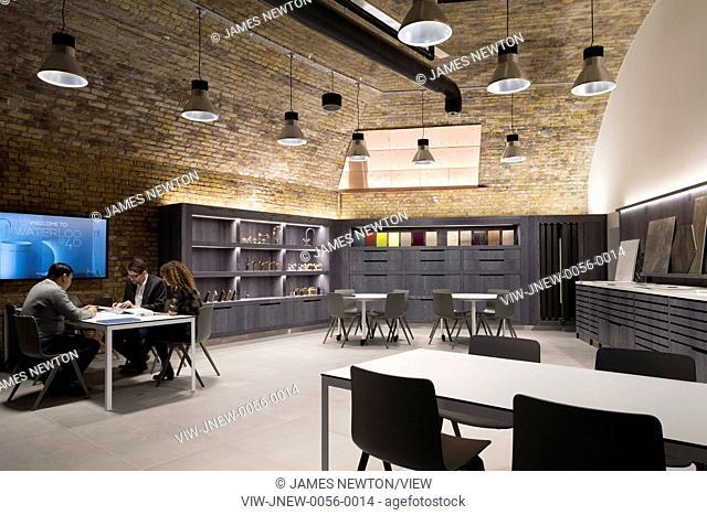 Samples library. C P Hart Showroom, London, United Kingdom. Architect: Morrow + Lorraine Architects, 2015