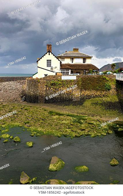 The coastal village of Lynmouth, Exmoor National Park, North Devon, England, UK, Europe