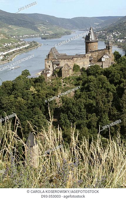 Stahleck Castle. Rhine Valley. Germany