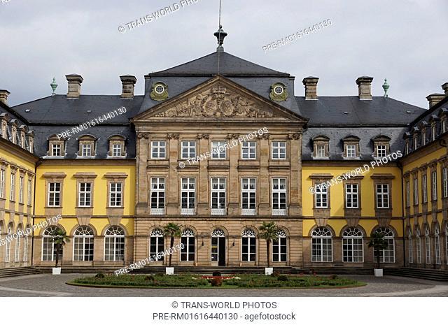 Arolsen castle, Bad Arolsen, Waldeck-Frankenberg district, Hesse, Germany / Residenzschloss Arolsen, Bad Arolsen, Landkreis Waldeck-Frankenberg, Hessen