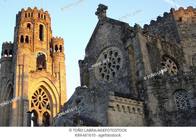 Santa Veracruz church. Carballinho. Ourense Province. Galicia. Spain