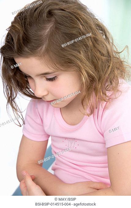 Girl in consultation