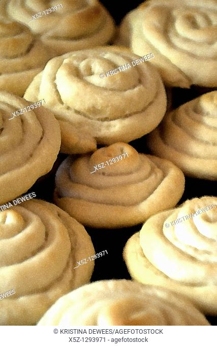 Some old fashioned Anise cookies fresh out of the oven