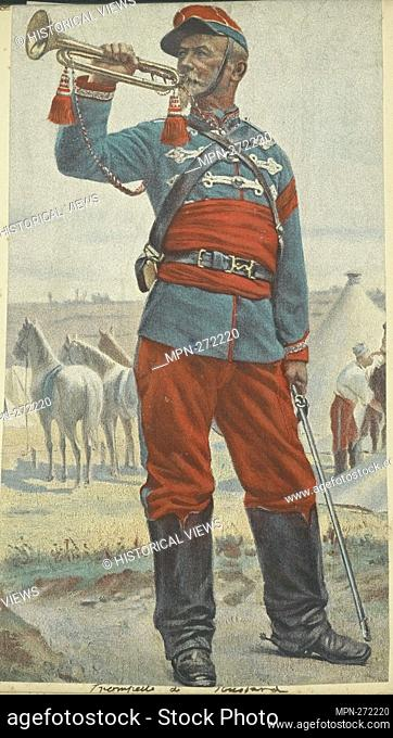 France, 1896. Vinkhuijzen, Hendrik Jacobus (Collector). The Vinkhuijzen collection of military uniforms France France, 1896
