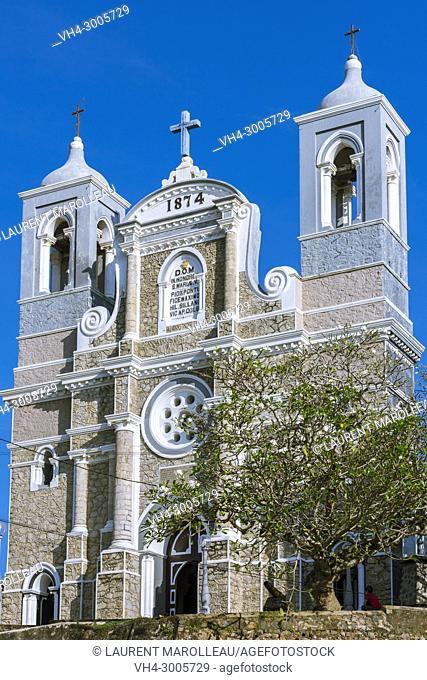 Cathedral of St. Mary, Queen of the Holy Rosary, Kaluwella Ward, Galle, Southern Province, Sri Lanka, Asia