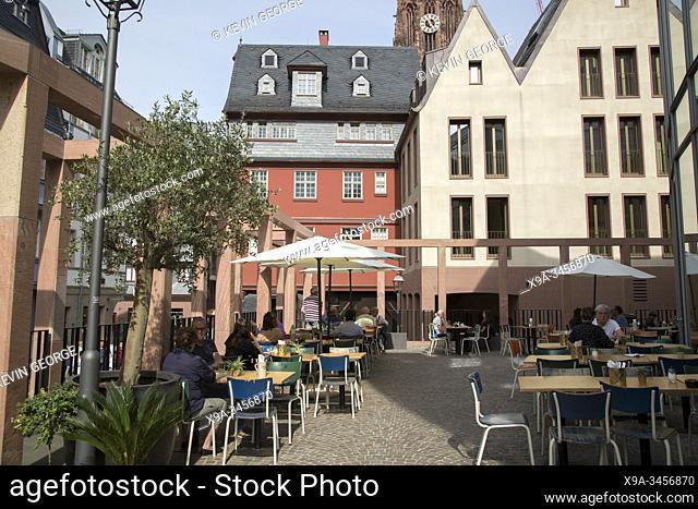 Badias Schirn Cafe, Frankfurt; Germany
