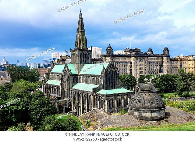 Glasgow Cathedral, Glasgow, Scotland, UK
