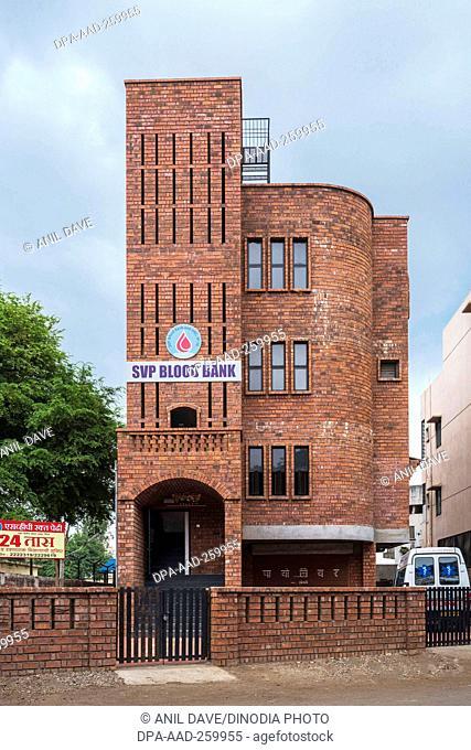 SVP Blood bank building, Miraj, Maharashtra, India, Asia