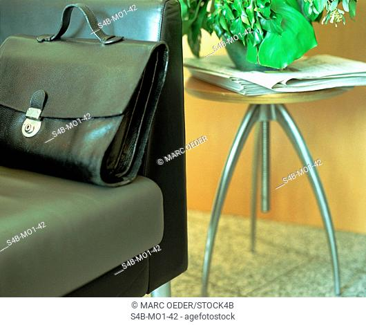 Briefcase on Settee