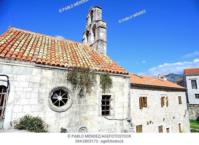 Church of Santa Maria in Punta of Budva, Montenegro