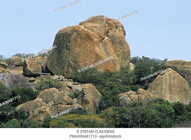 Matopos national park, Matobo Hills, Bulawayo, Zimbabwe, Africa