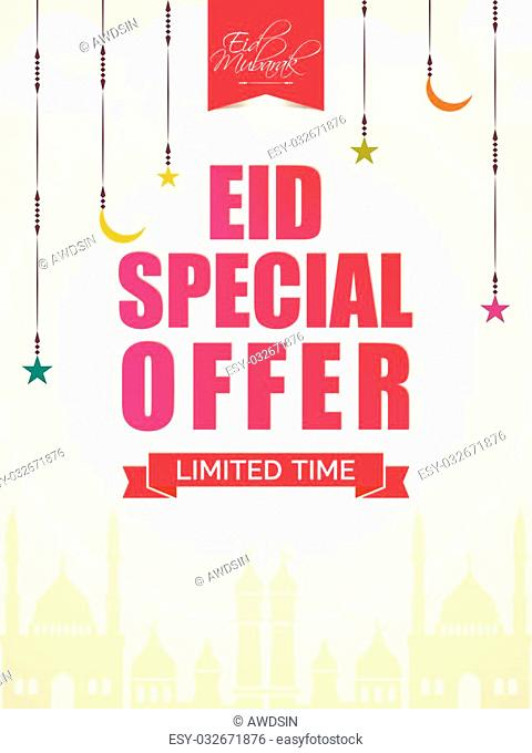 Eid Special Offer Sale Flyer