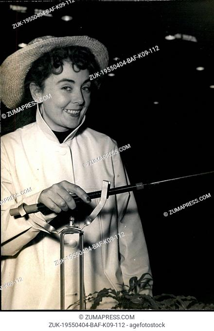 Apr. 04, 1955 - Annual Inventors Show Opens in Paris ?¢'Ǩ'Äú A device to hold the fishing rod, one of the small inventions seen at the Annual Inventors Show...
