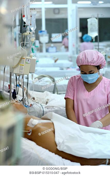 The Heart Institute offer high-quality care to Vietnamese patients suffering from heart diseases. Intensive care unit