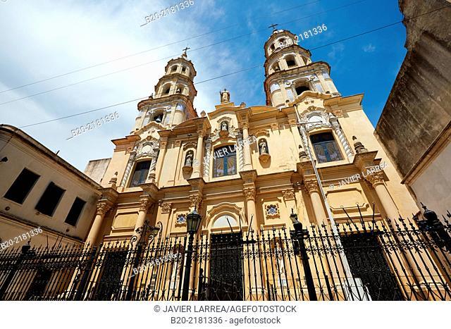 San Pedro Church. San Telmo. Buenos Aires. Argentina