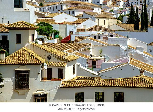 Ronda, one of the famous white villages in Andalucia, Spain