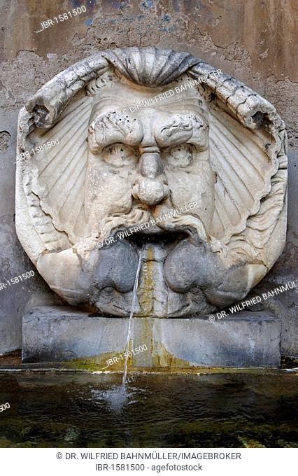 Fountain at the Santa Sabina, Aventine, Ripa, Rome, Italy, Europe