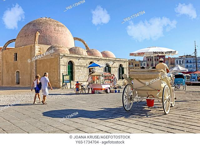 Hassan Pasha Mosque, Chania, Crete, Greece