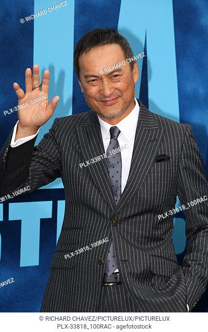 """Ken Watanabe at the Warner Brothers Pictures World Premiere of """"""""Godzilla King Of The Monsters"""""""". Held at the TCL Chinese Theater in Hollywood, CA, May 18, 2019"""