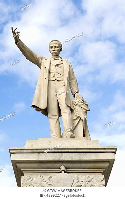 Park and statue of Jose Marti, Cienfuegos, Unesco World Heritage Site, Cuba
