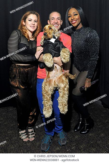 Katy B and Alexandra Burke perform live at G-A-Y's New Years Eve party Featuring: Katy B, Alexandra Burke, Jeremy Joseph Where: London
