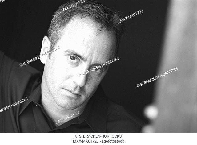 Portrait of man indoors