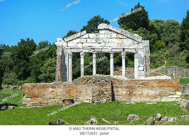 Agonothetes or Bouleuterion Monument, Apollonia Archaeological Park, Pojani Village, Illyria, Albania