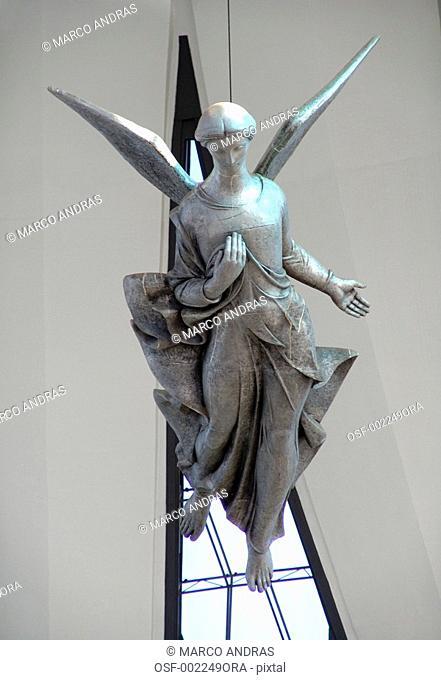 brasilia modern architecture monument angel flying