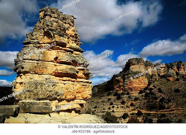 Torrejón del Molino, Hoces del Río Piedra Gorge, Zaragoza province, Aragon, Spain