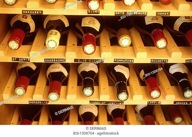 WINE<BR>Wine storage cabinets with temperature control