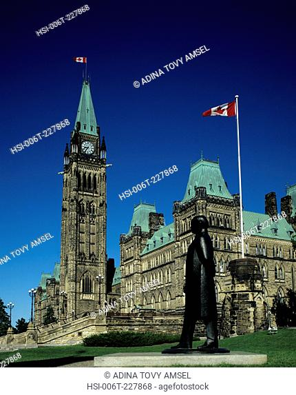 Canada. Ottawa. Parliament building