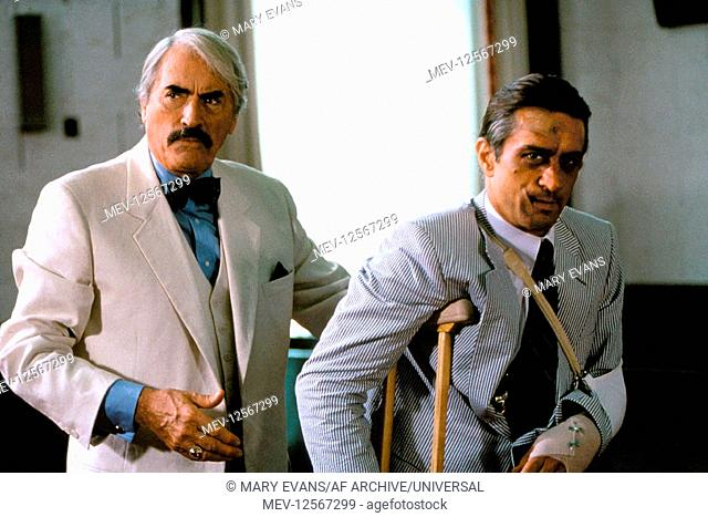 Gregory Peck Robert De Niro Characters Lee Heller Max Cady Film Cape Fear Usa 1991 Director Stock Photo Picture And Rights Managed Image Pic Mev 12567299 Agefotostock