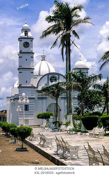 San Cristobal in Tlacotalpan church. Veracruz. Mexico