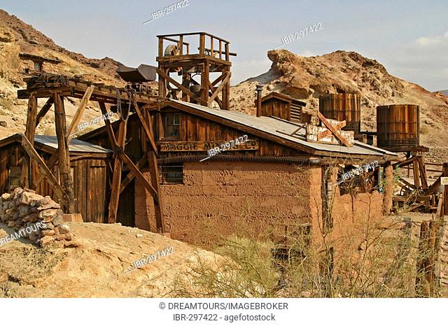 The former Ghosttown Calico is used as a tourist attraction Calico California United States of America USA