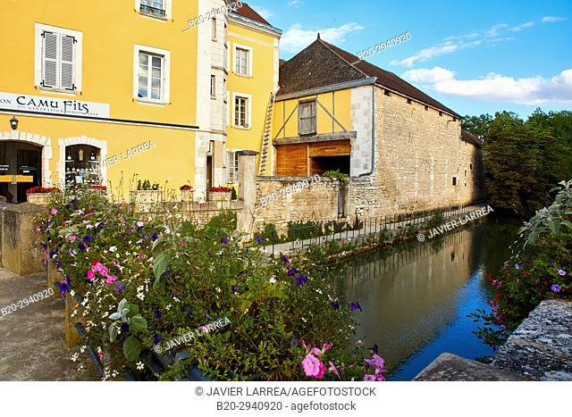 Chablis, Yonne, Bourgogne, Burgundy, France, Europe
