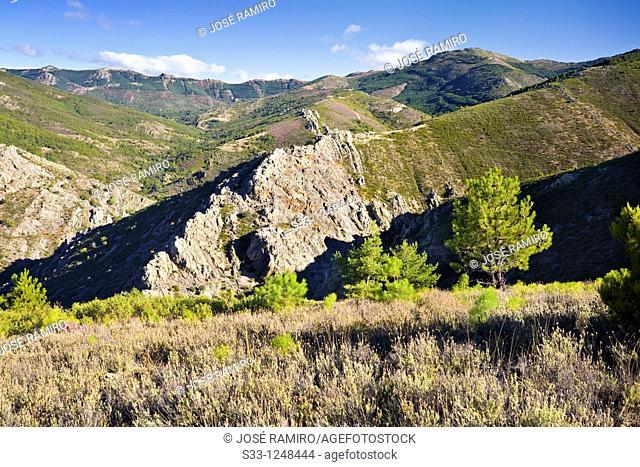 Sierra de la Puebla and the Tornera peak Madrid Spain