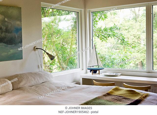 View of bedroom, Sweden