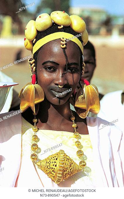 Fula woman, Djenne, Mali