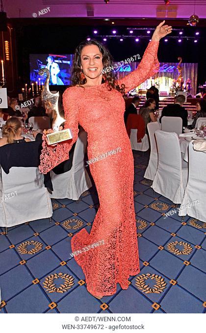 Notte delle Stelle 'Premio Bacco 2018' at Hotel Maritim. Featuring: Christine Neubauer Where: Berlin, Germany When: 16 Feb 2018 Credit: AEDT/WENN.com